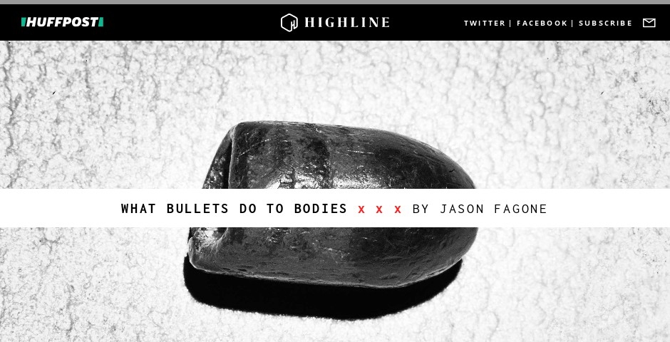 Nominee - What Bullets Do To Bodies