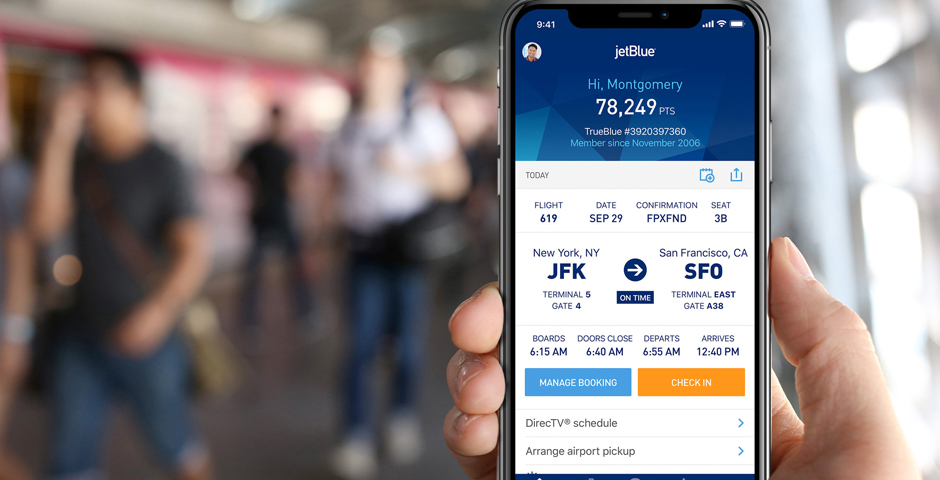 People's Voice - JetBlue Travel Application