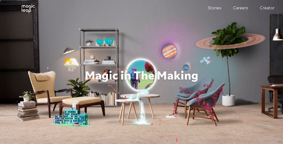Nominee - Magic Leap Website