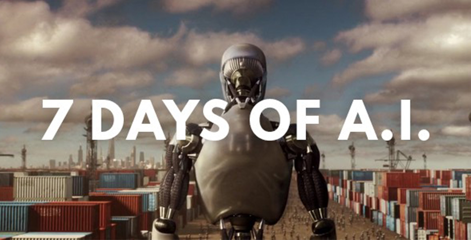 Webby Award Nominee - 7 Days of Artificial Intelligence