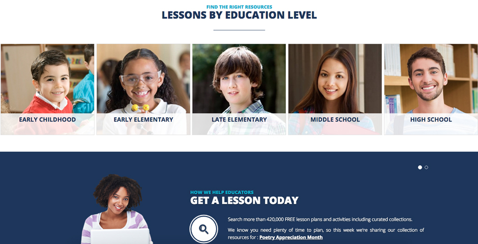 Nominee - AFT's Share My Lesson: By Educators, For Educators