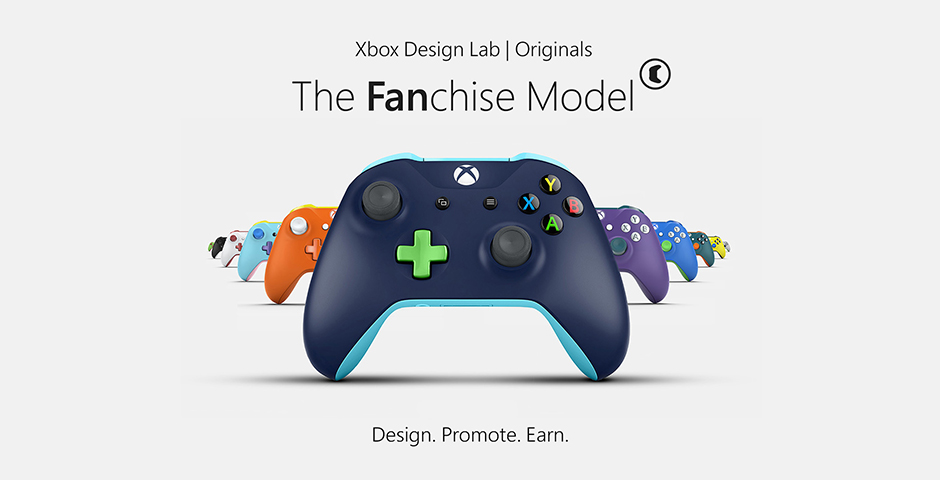 Honoree - Xbox Design Lab Originals: The Fanchise Model