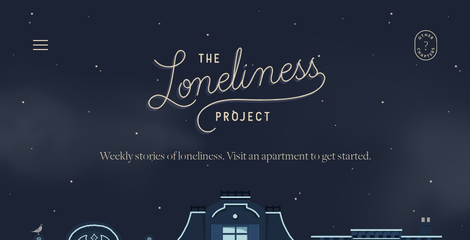 Webby Award Nominee - The Loneliness Project