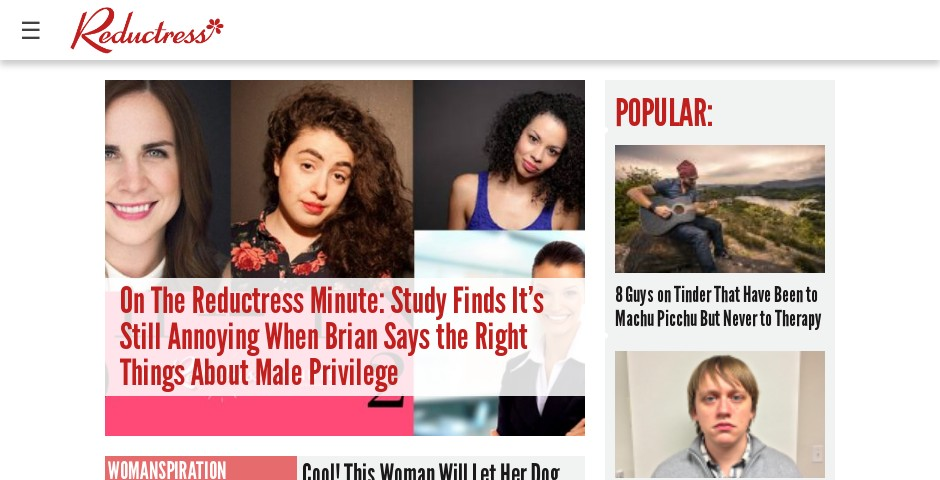 Webby Award Winner - Reductress