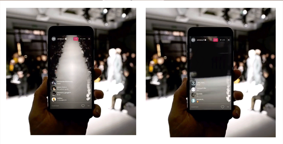 Nominee - Y-3 Multi-Cam Split-Screen Instagram Live Story