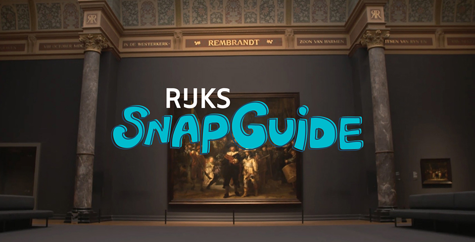 Webby Award Nominee - Rijksmuseum SnapGuide