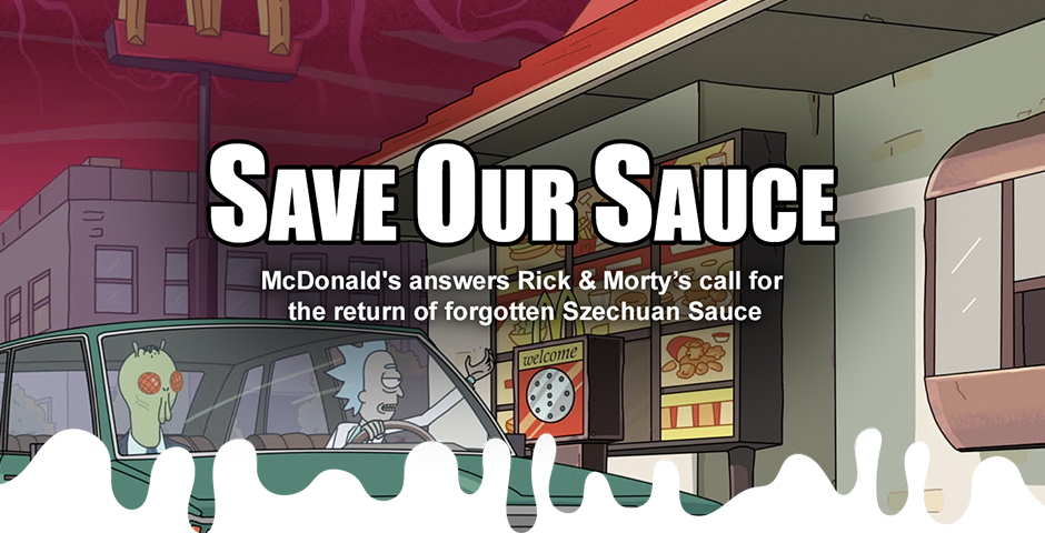 Webby Award Nominee - Szechuan Sauce Returns