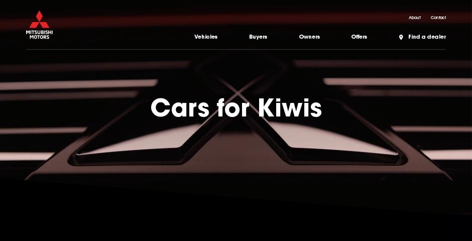 Webby Award Nominee - Mitsubishi Motors New Zealand
