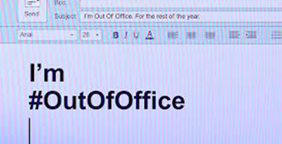 I'm Out Of Office for equal pay.