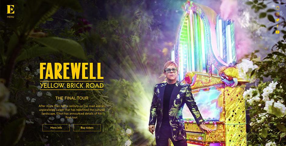 Webby Award Nominee - Elton John