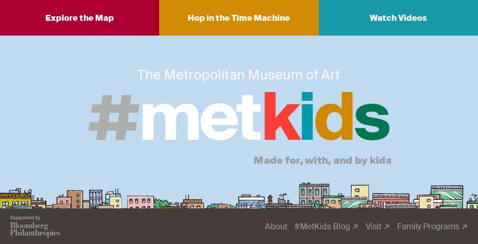Webby Award Nominee - #MetKids