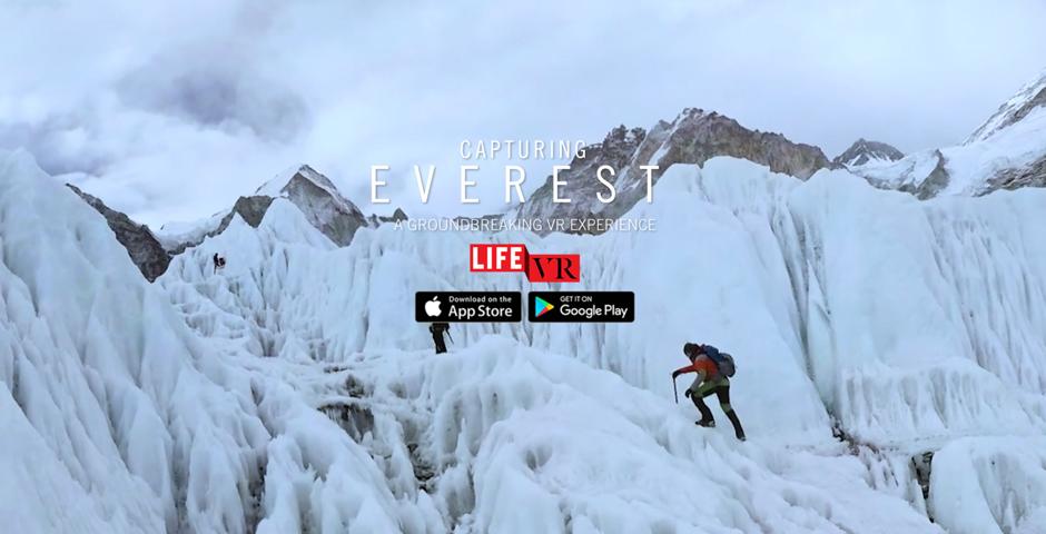 2018 Webby Winner - Capturing Everest