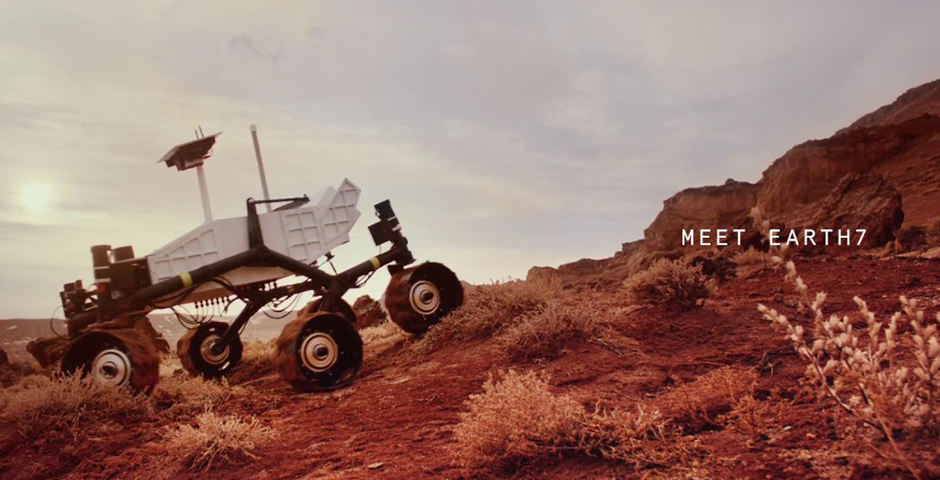 Webby Award Nominee - EARTH7. THE SPACE ROVER DESTINED FOR EARTH