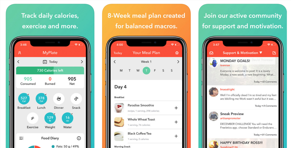 livestrong s myplate calorie tracker fitness app now with free