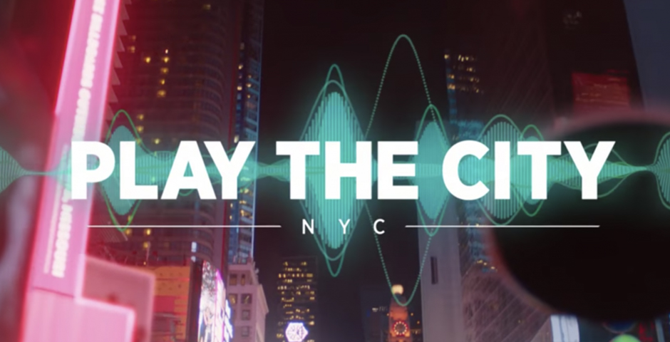 Webby Award Winner - Play the City