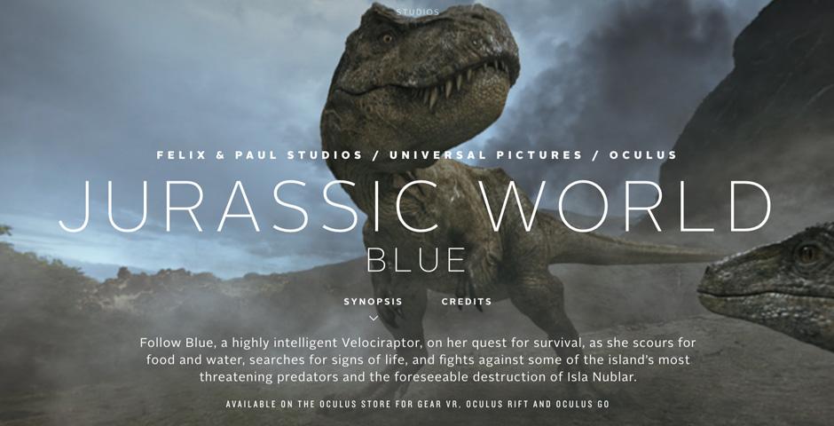 Nominee - Jurassic World: Blue