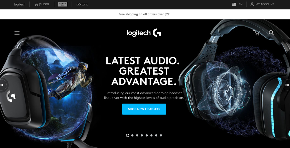 Nominee - Logitech G Mobile Site
