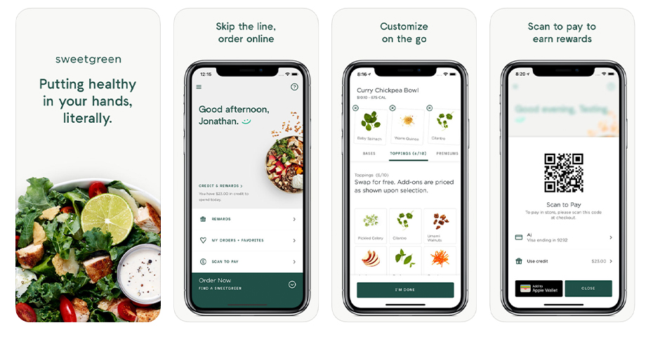 Nominee - sweetgreen App