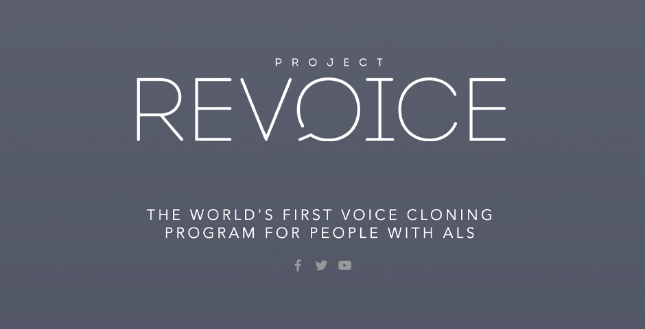 Webby Award Nominee - Project Revoice