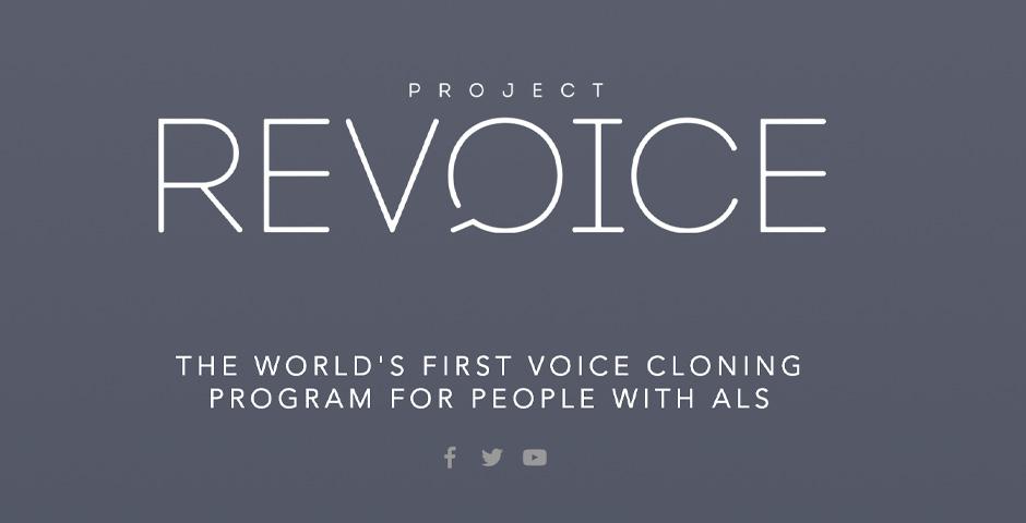 Webby Award Winner - Project Revoice