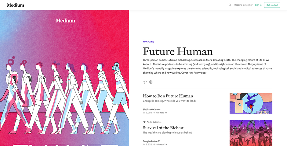 Webby Award Nominee - Future Human