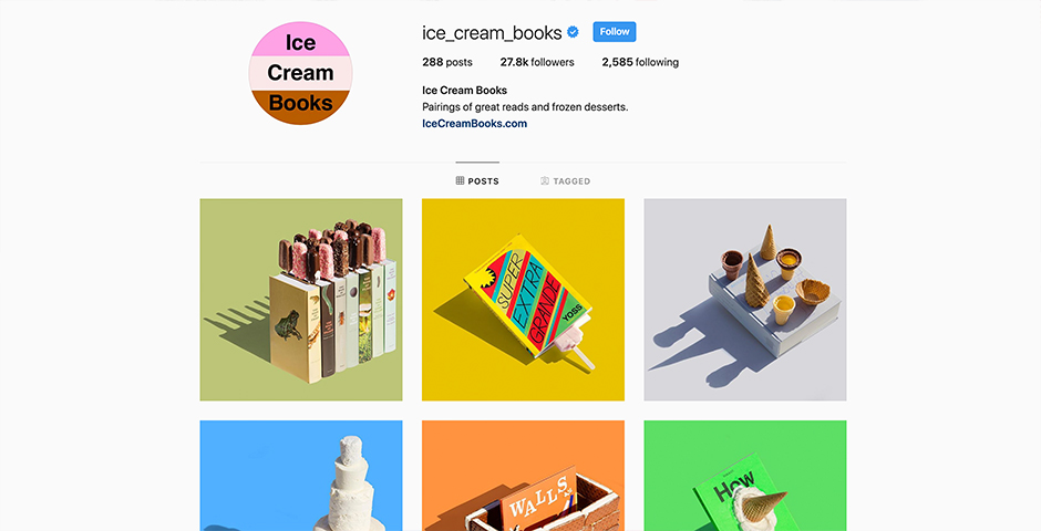 Nominee - Ice Cream Books