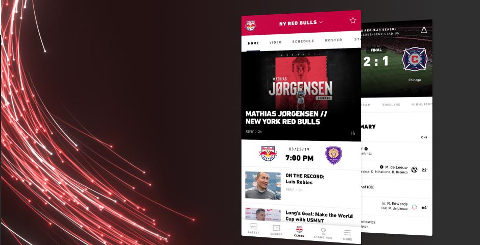 Nominee - MLS Mobile App