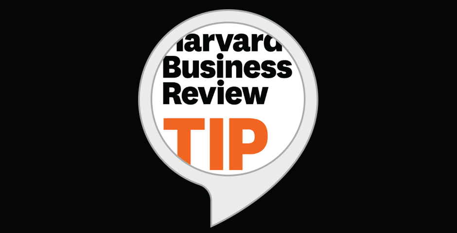 Webby Award Winner - Harvard Business Review Management Tip