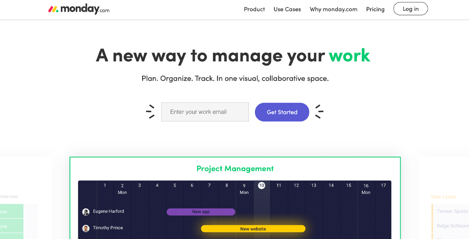 Webby Award Winner - monday.com: Connecting 400K people to workplace processes