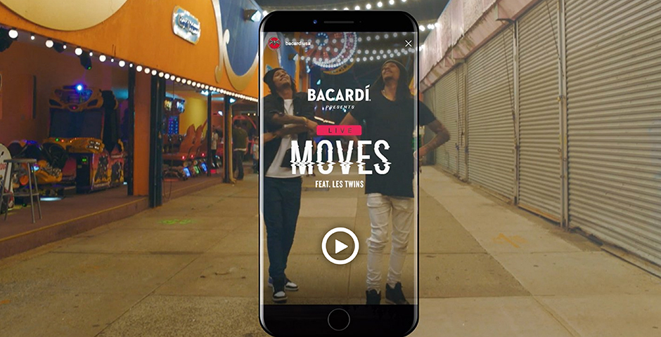 Nominee - Bacardi – Live Moves