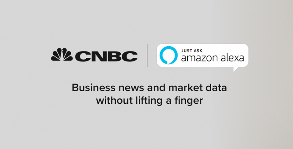 Nominee - CNBC Skill for Amazon Alexa
