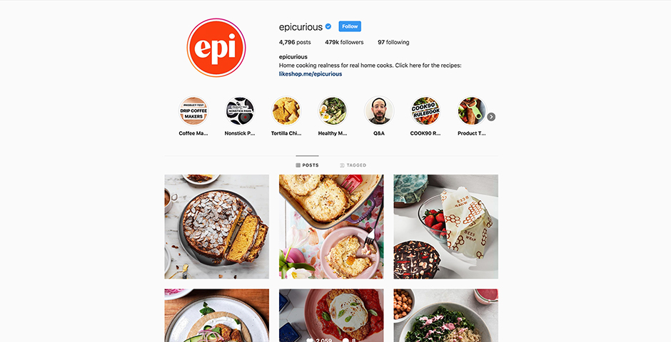Nominee - Epicurious
