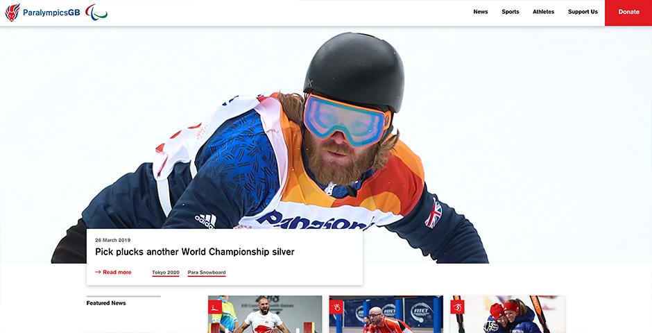 2019 Webby Winner - ParalympicsGB