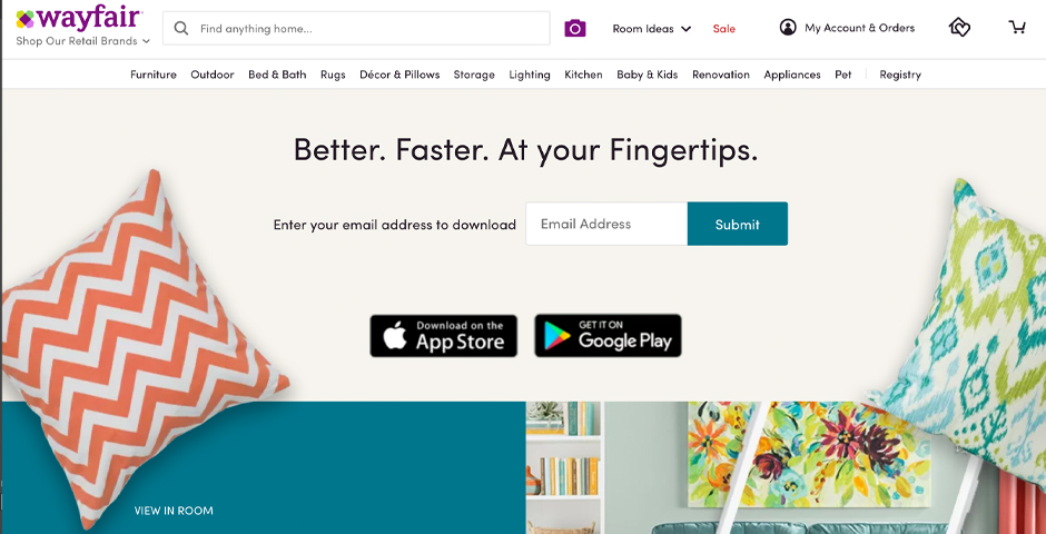 People's Voice - Wayfair – Mobile Shopping App