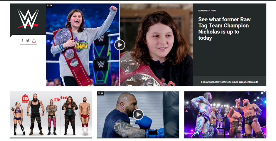 Nominee - WWE.com