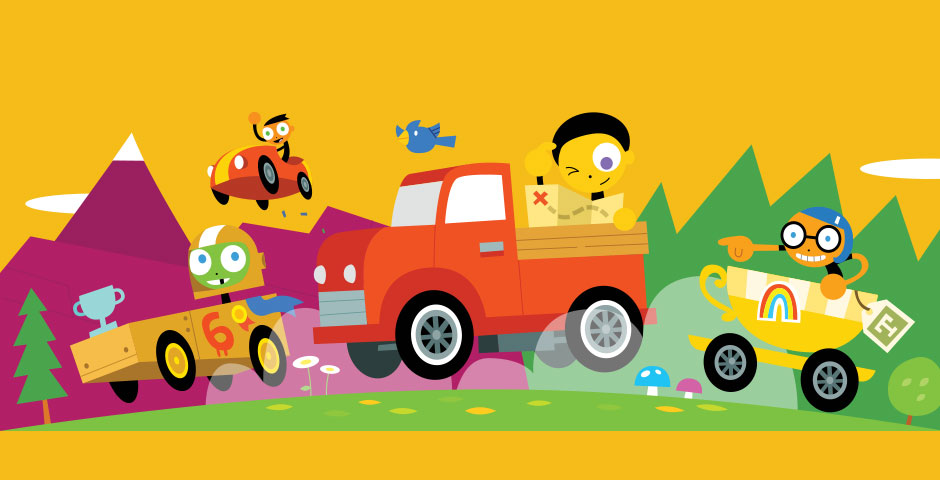 Webby Award Nominee - PBS KIDS Kart Kingdom