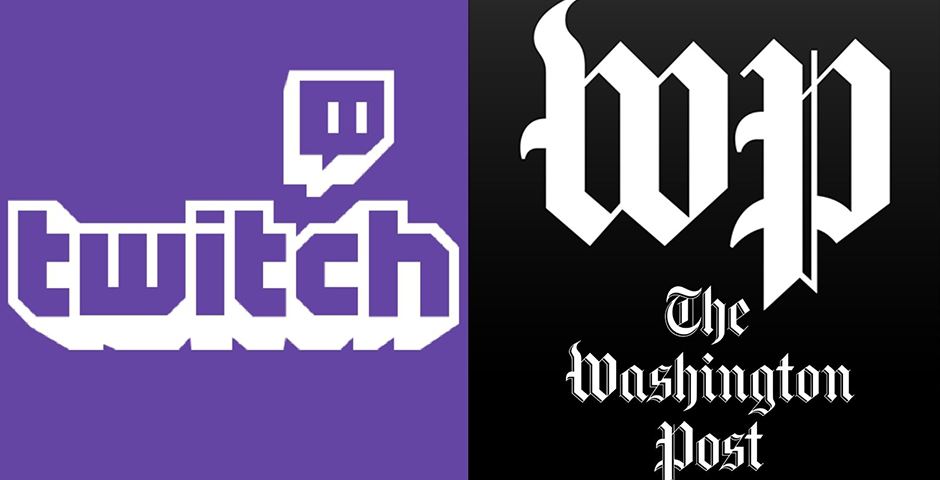 Nominee - The Washington Post on Twitch