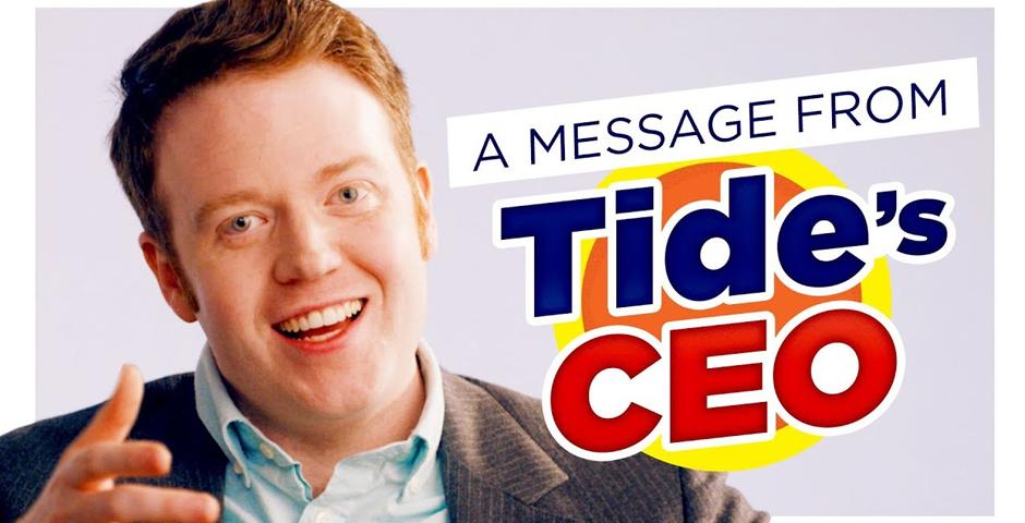 Webby Award Winner - Tide CEO: You Gotta Stop Eating Tide Pods | CH Shorts