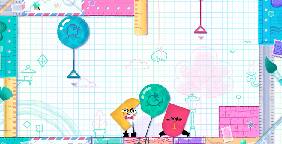 2019 Webby Winner - Snipperclips: Cut it out, Together!