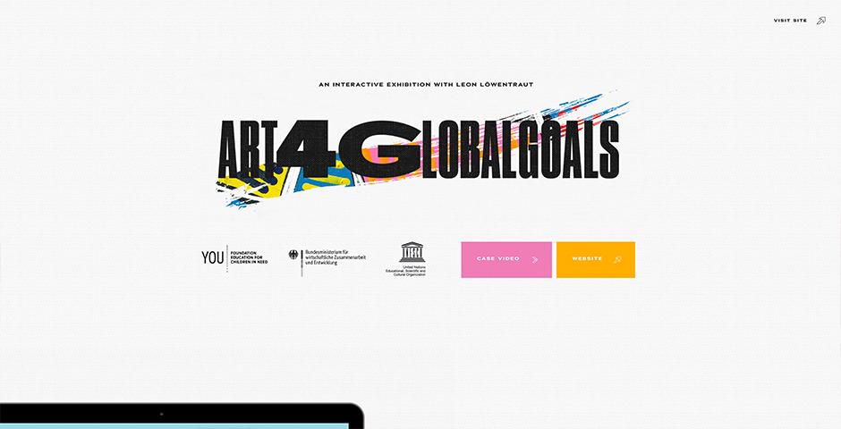 Webby Award Winner - Art4GlobalGoals