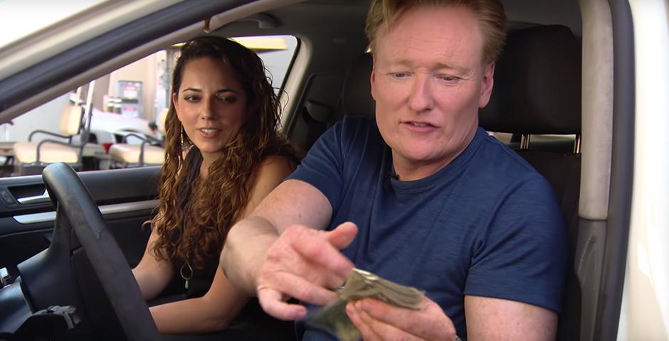 Webby Award Winner - Conan Helps His Assistant Buy A Car