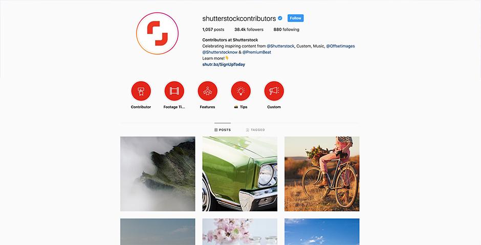 Nominee - Shutterstock Contributors