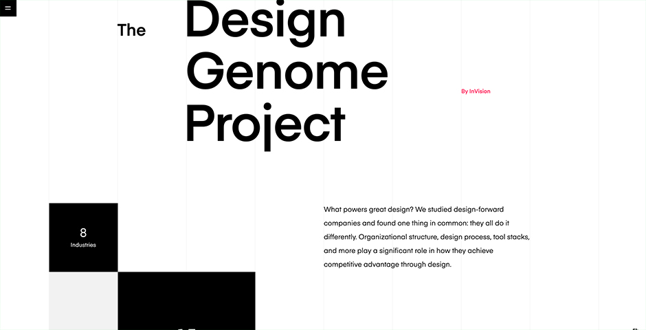 Nominee - The Design Genome Project