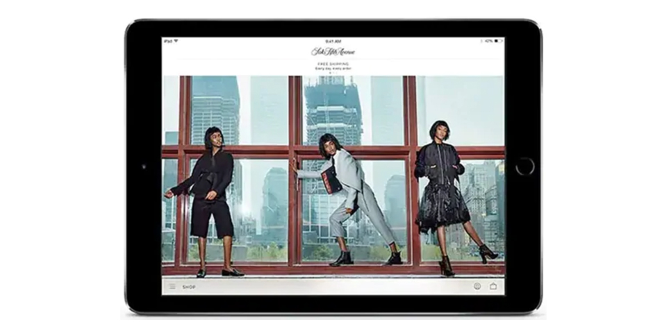 Nominee - Saks Fifth Avenue App
