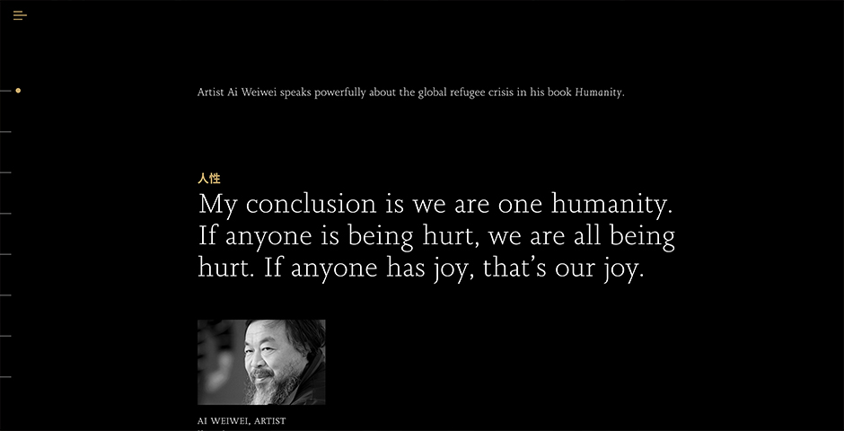 Nominee - Ai Weiwei's Humanity