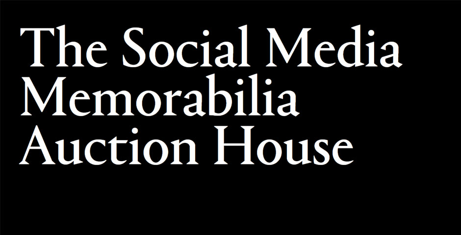 Nominee - The Social Media Memorabilia Auction House