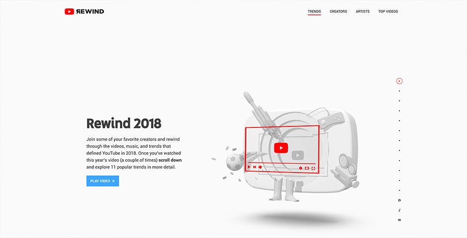 Webby Award Nominee - YouTube Rewind 2018