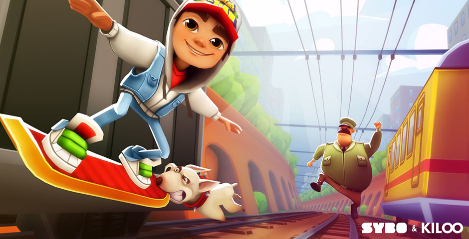 Webby Award Nominee - Subway Surfers