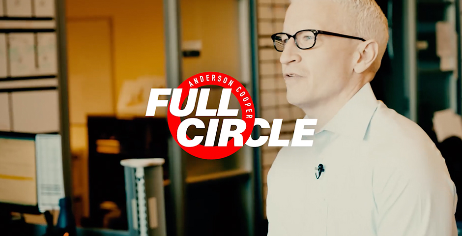 Webby Award Nominee - Anderson Cooper Full Circle
