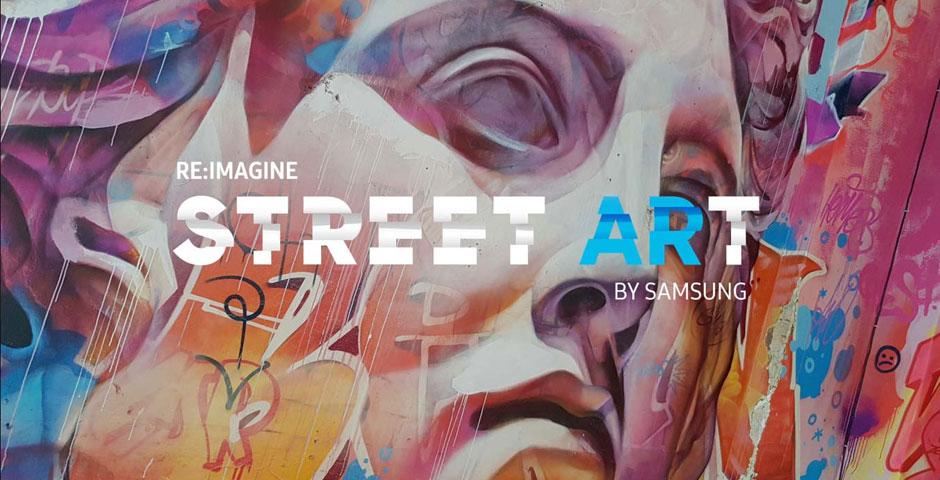 2019 Webby Winner - Re:Imagine Street ARt